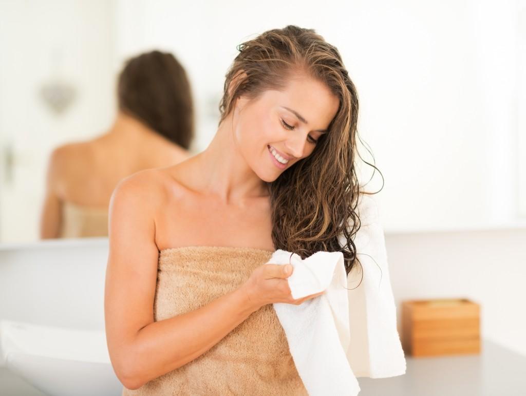 Women in towels photos