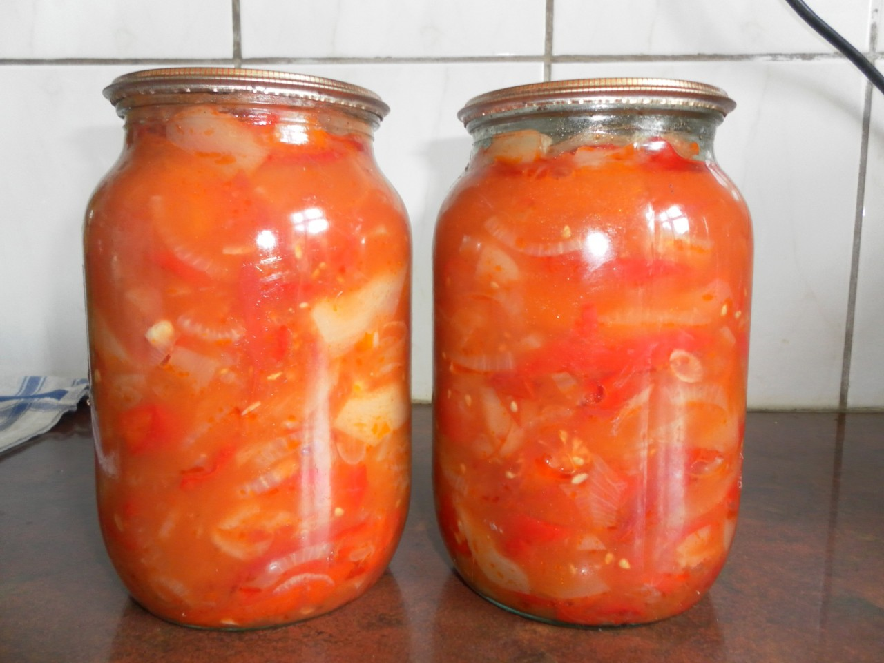 Лечо с кабачком на зиму рецепт с пошаговым приготовлением и