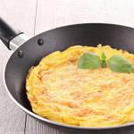 как приготовить омлет на сковородке