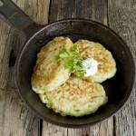 как приготовить оладьи из кабачков быстро и вкусно на сковороде