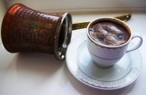 как варить кофе в турке на плите